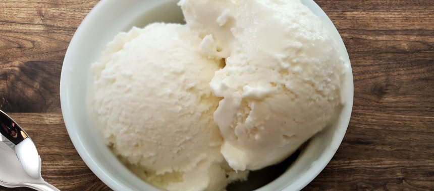 Vanilla Ice Cream (Eggless)