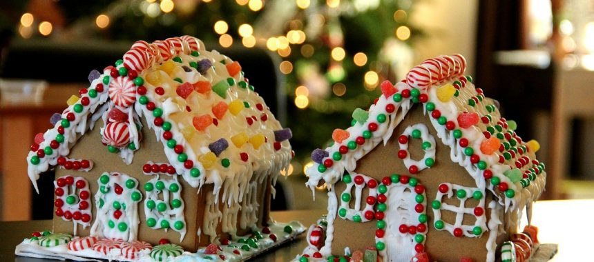 Gingerbread House (Egg Free)