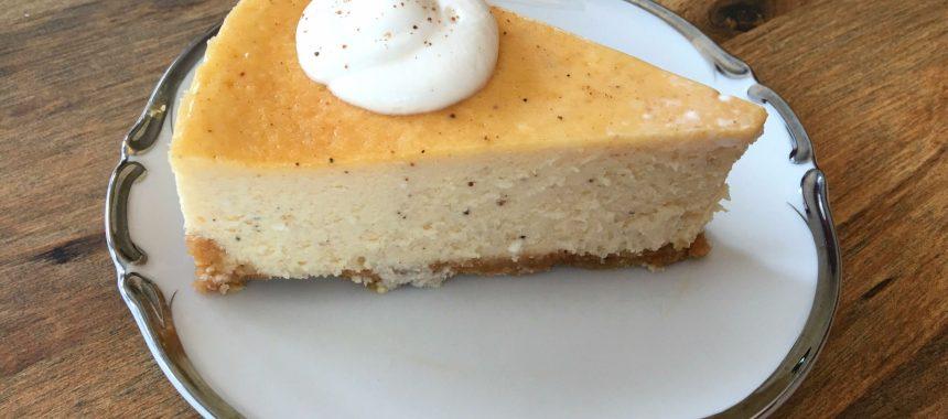 Egg Nog Cheesecake