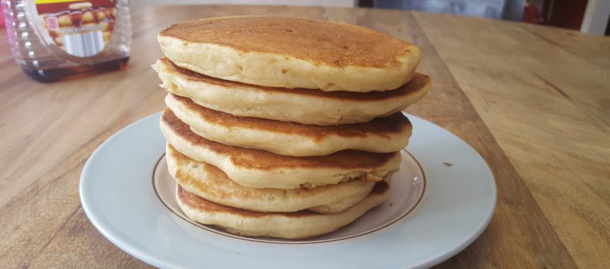 Faux Buttermilk Pancakes