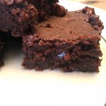 Healthy Chickpea Brownies
